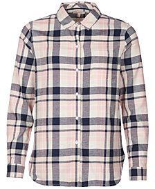 Barbour Hedley Plaid Cotton Shirt