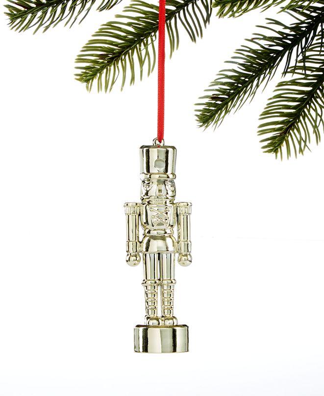 Holiday Lane Black Tie Nutcracker Ornament, Created for Macy's