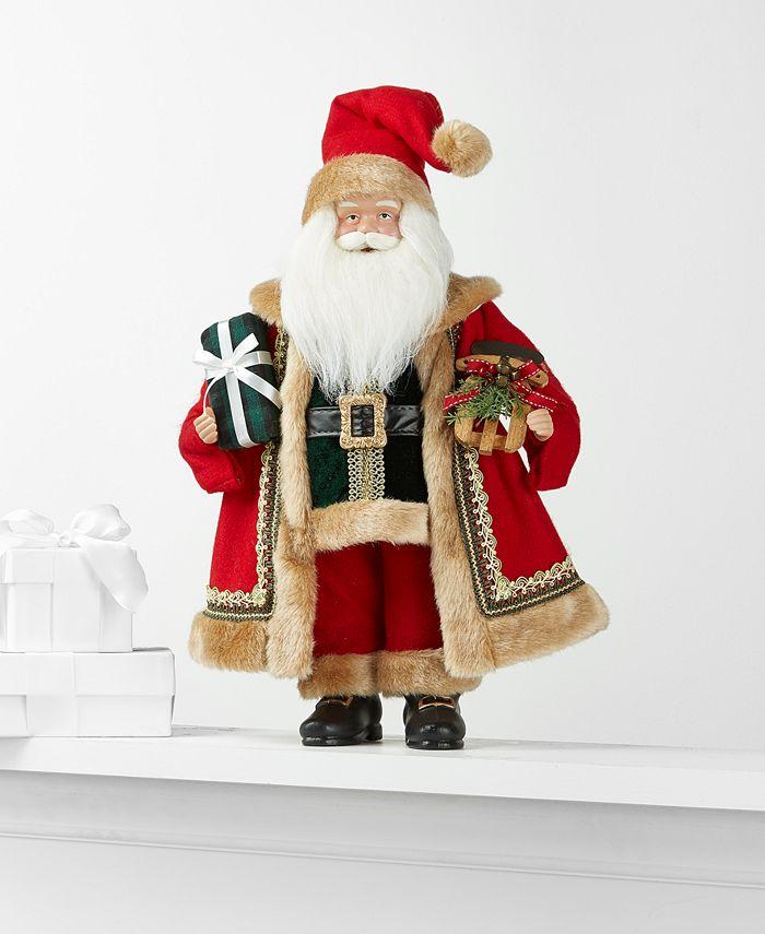 Holiday Lane - Christmas Cheer Santa with Gifts