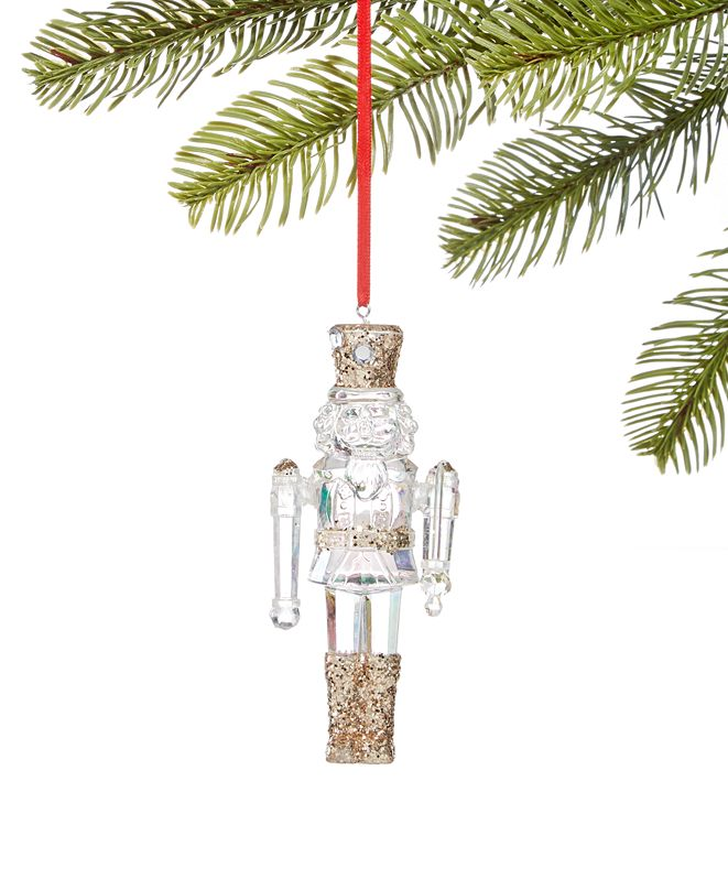 Holiday Lane Crystal Elegance Nutcracker Ornament, Created for Macy's