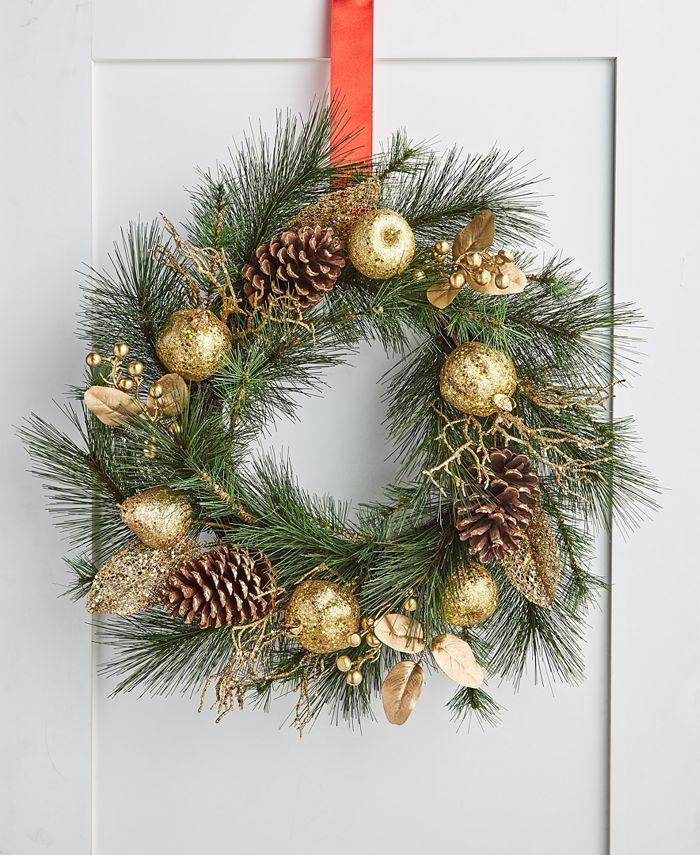 Holiday Lane - Evergreen Dreams Wreath
