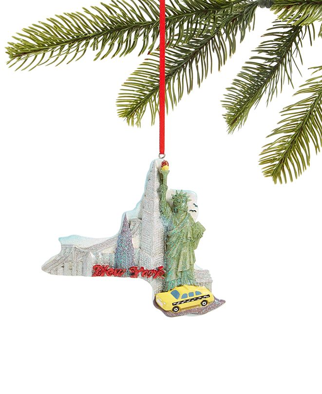 Holiday Lane New York State Ornament, Created for Macy's