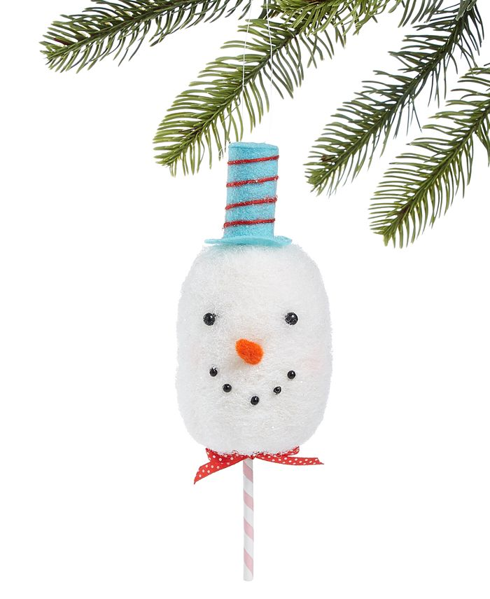 Holiday Lane - Sweet Tooth Snowman Ornament