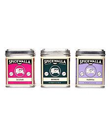 Spicewalla Brand Middle Eastern Spice Seasoning Big Tin 3 Pack Gift Set