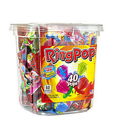 Individually Wrapped Lollipop Candy, 40 Count Bulk Tub