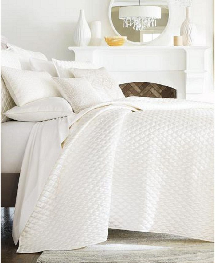 Hotel Collection - Cambria Full/Queen Coverlet, Created for Macy's