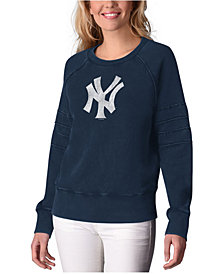 Touch by Alyssa Milano Women's New York Yankees Bases Loaded Scoop Neck Top