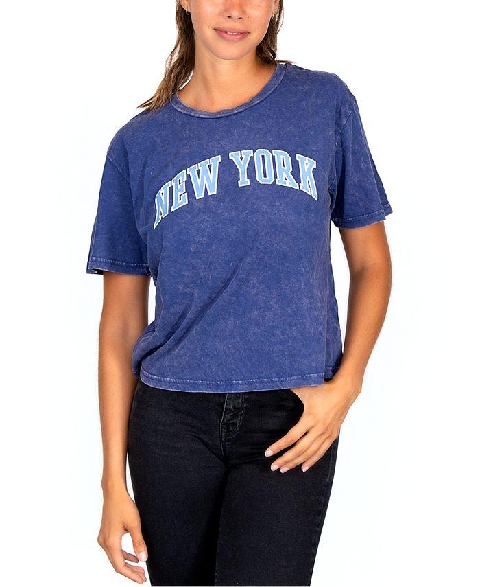 Rebellious One - Juniors' New York Graphic T-Shirt