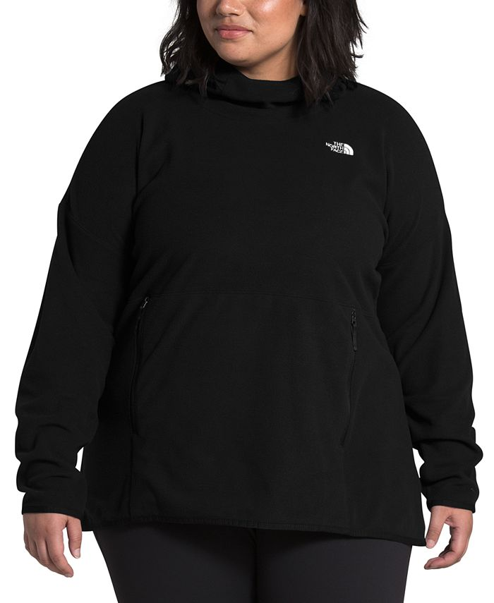 The North Face - Women's Plus Size TKA Glacier Pullover Hoodie