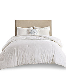 Madison Park Prelude 4 Piece Microsculpt King/California King Comforter Set