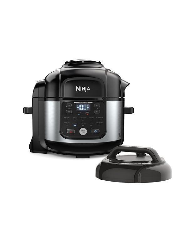Ninja Foodi® FD302 11-in-1 6.5-qt Pro Pressure Cooker + Air Fryer with Stainless finish, FD302