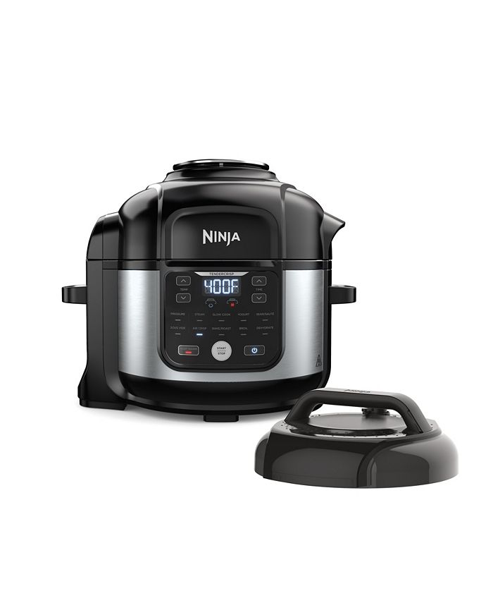 Ninja - ® Foodi® 11-in-1 6.5-qt Pro Pressure Cooker + Air Fryer with Stainless finish, FD302