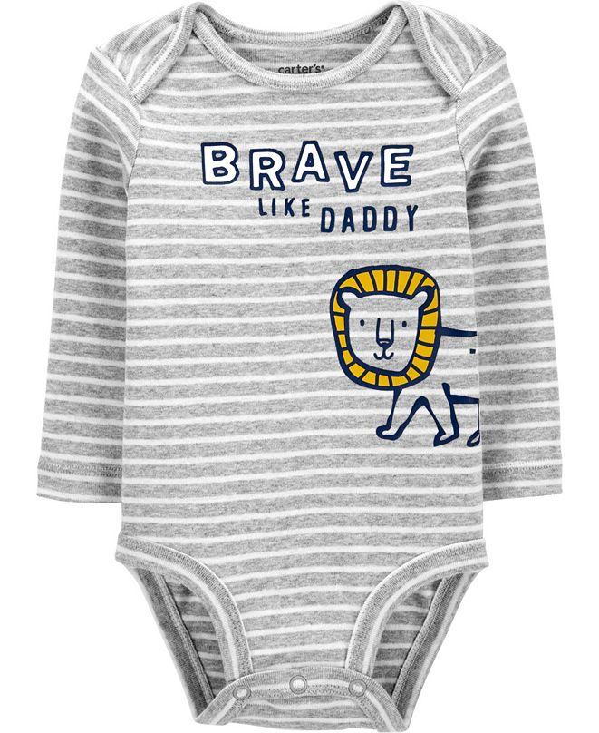 Carter's Baby Boy Brave Like Daddy Original Bodysuit