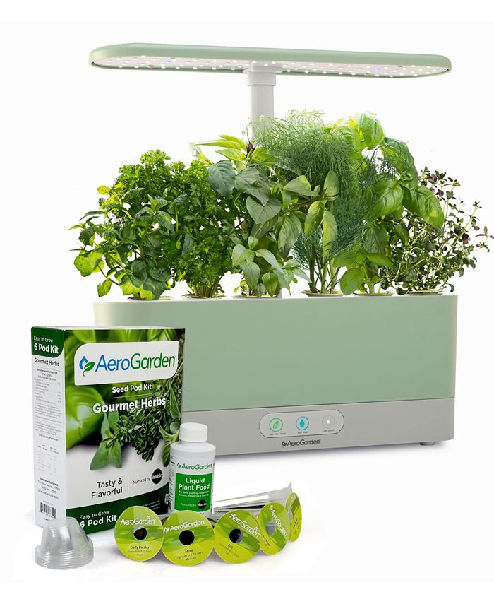 AeroGarden - Harvest Slim with Gourmet Herbs Seed Pod Kit