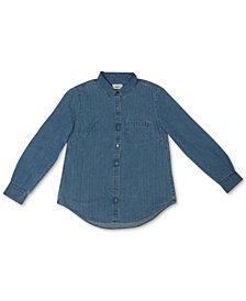 Style & Co Boyfriend Shirt, Created for Macy's