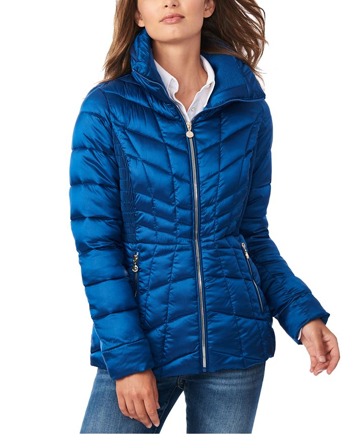 Bernardo - Quilted Packable Water-Resistant Puffer Coat