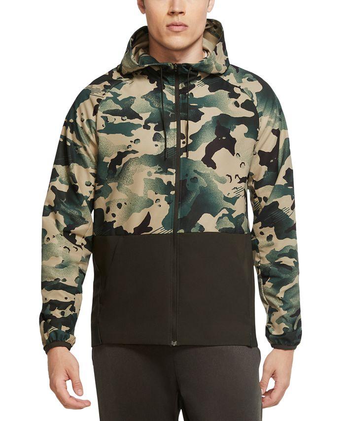Nike - Men's Dri-FIT Flex Camo Jacket