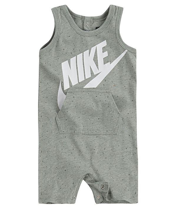 Nike Baby Boy or Girls Polka Dot Tank Romper