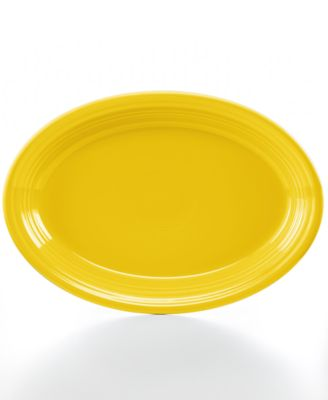 "Fiesta Sunflower 13"" Oval Platter"