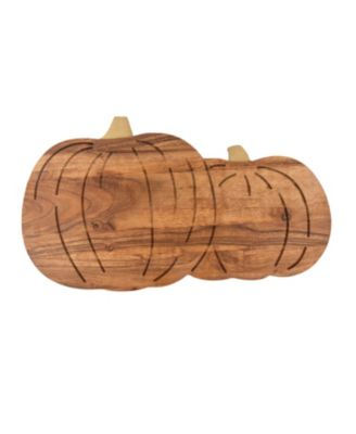 Pumpkin Wood Serving Board