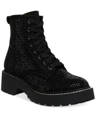 Madden Girl Carra Lace-Up Lug Sole