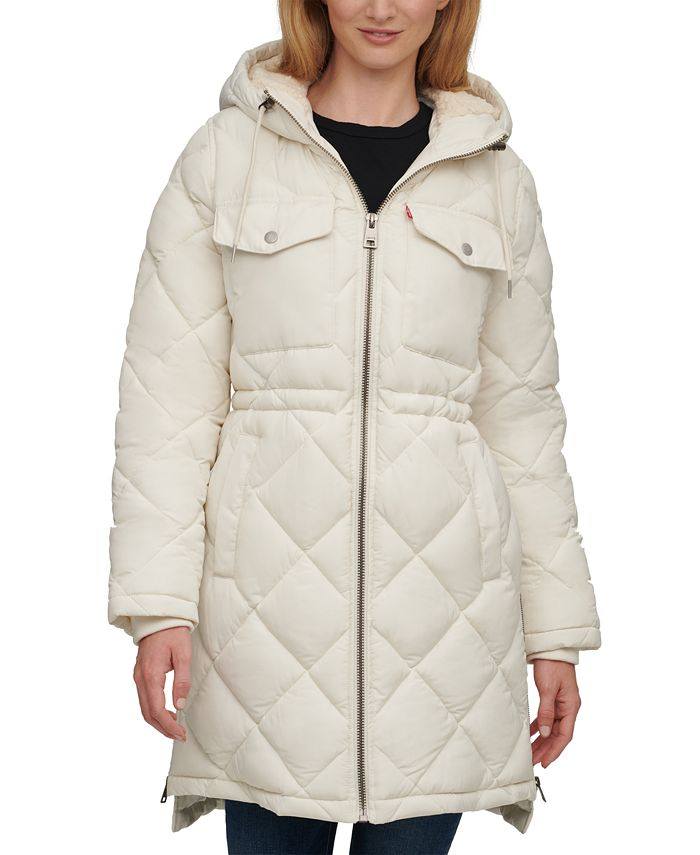 Levi's - Quilted Hooded Parka