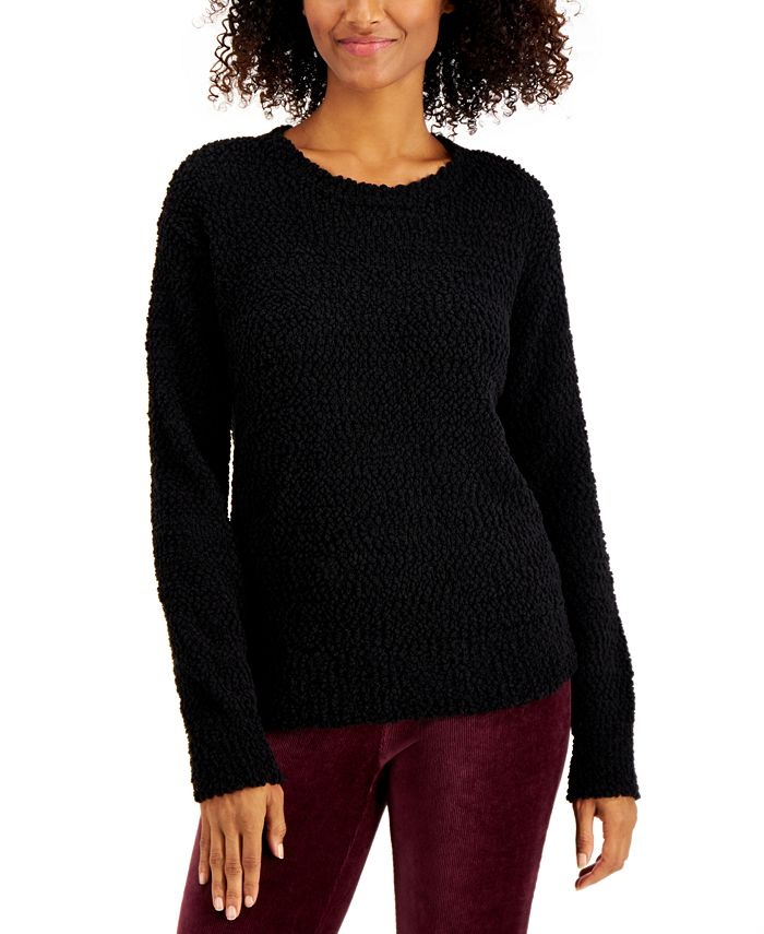 Style & Co - Teddy Bouclé Sweater