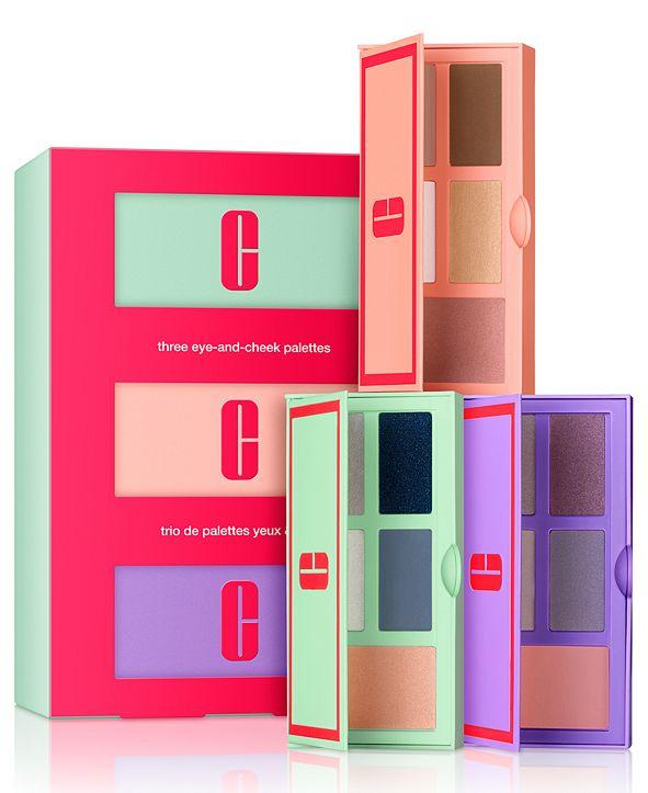Clinique 3-Pc. Build Your Color Eye & Cheek Palette Gift Set