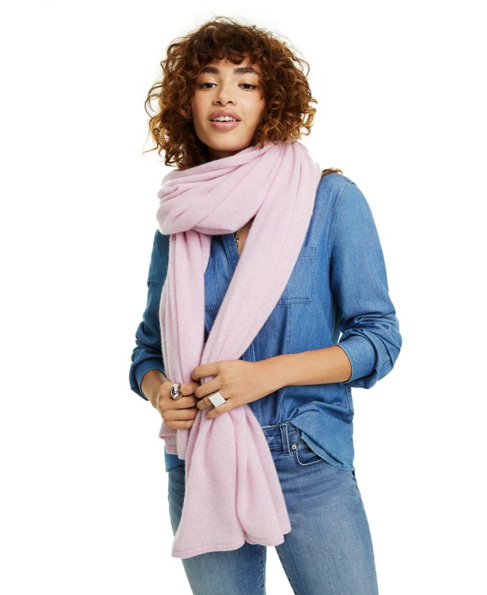 Charter Club - Oversized Cashmere Scarf