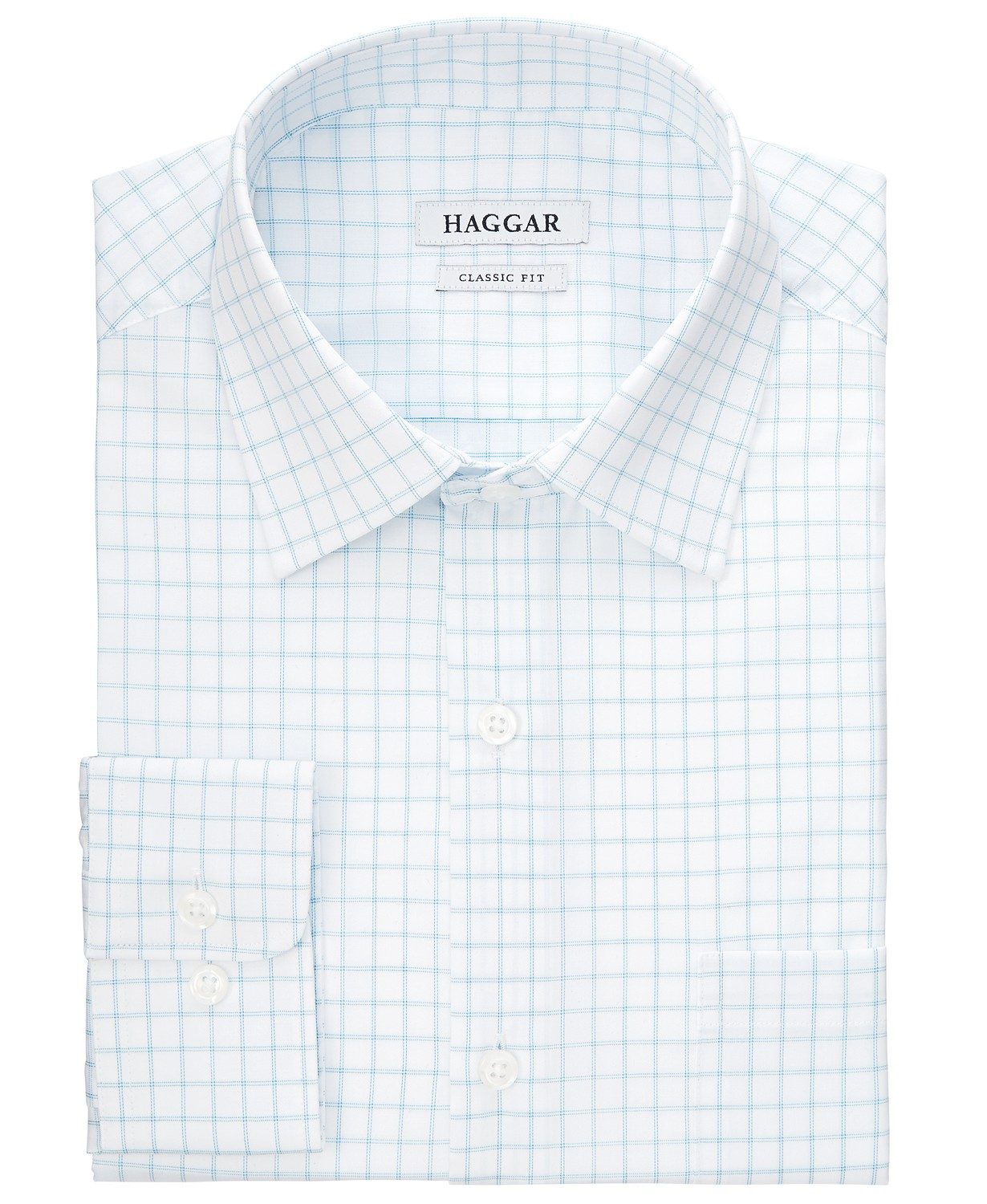 Men's Classic/Regular-Fit Comfort Stretch Check Dress Shirt  $10.06 (83% off)