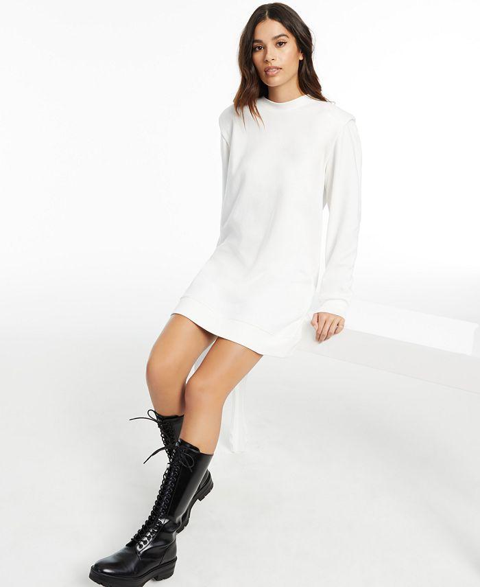 INC International Concepts - Long-Sleeve Knit Mini Dress