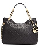 MICHAEL Michael Kors Susannah Medium Quilted Shoulder Tote