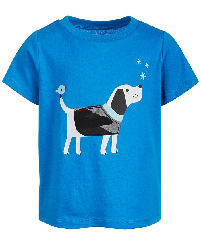 First Impressions - Baby Boys Cotton Dog T-Shirt