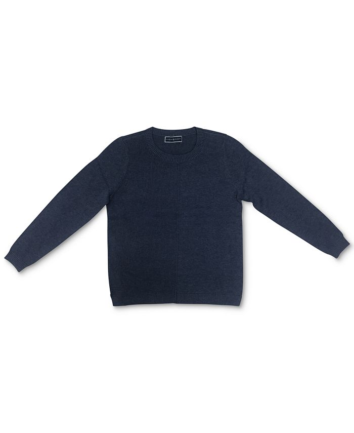Karen Scott - Cotton Ribbed Sweater