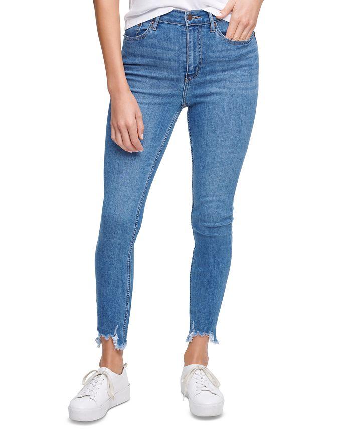 Calvin Klein Jeans - Destroyed-Hem Jeans