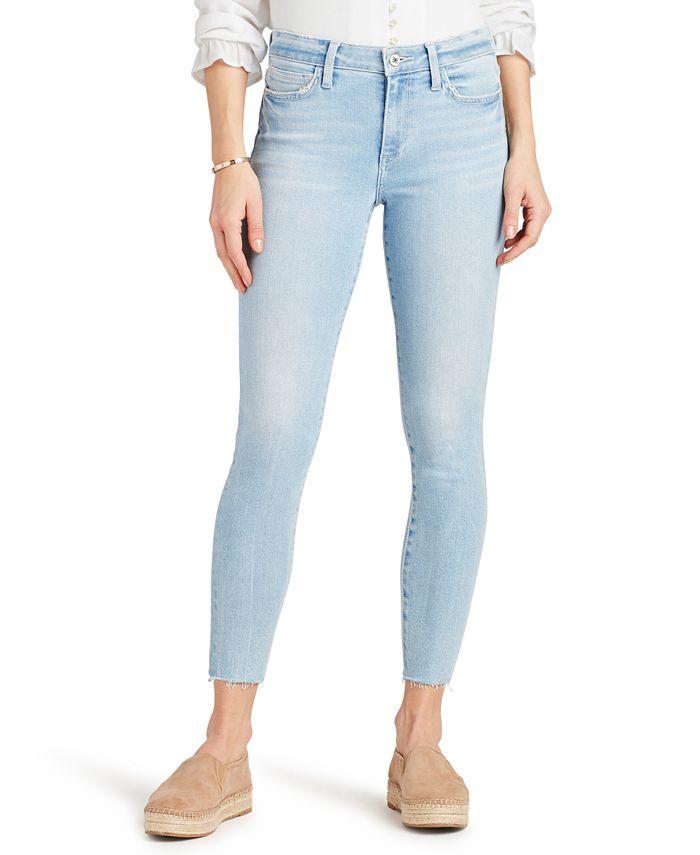Sam Edelman - Raw-Hem Skinny Jeans
