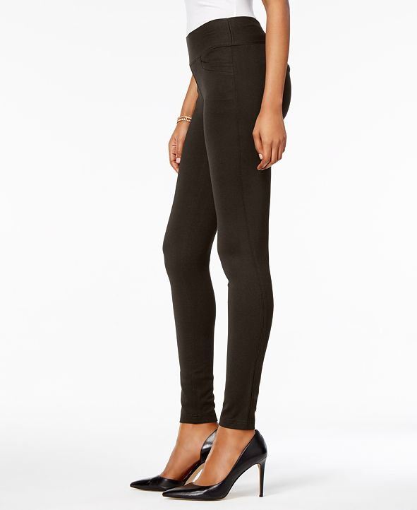 Style & Co Mid-Rise Ponté-Knit Leggings, Created for Macy's