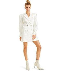 CULPOS X INC Crystal-Button Blazer Dress, Created for Macy's