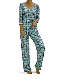 Hue Women's Holiday Gift Boxes Pajama Set