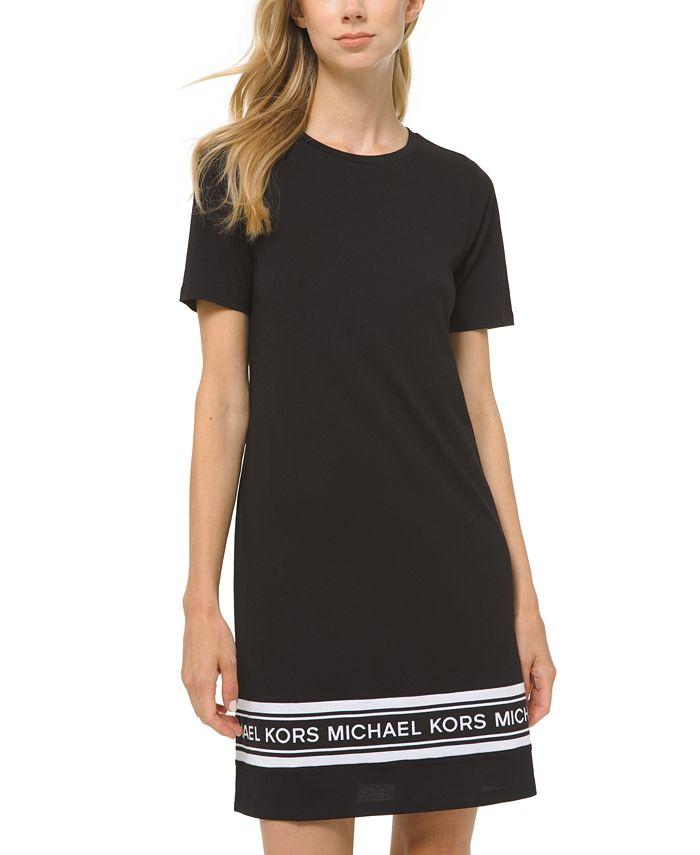 Michael Kors - Plus Size Logo T-Shirt Dress