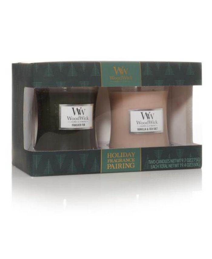 WoodWick Candle - Giftsets 2 holiday medium jars
