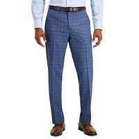 Deals on Perry Ellis Portfolio Mens Check Performance Dress Pants