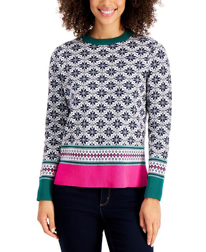 Charter Club - Petite Fairisle Sweater