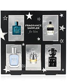 5-Pc. Fragrance Sampler For Him Gift Set, Created for Macy's