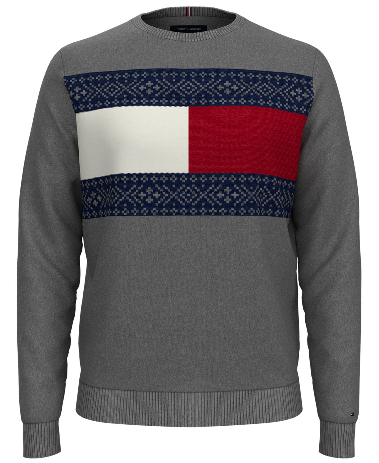 Tommy Hilfiger Men's Big & Tall Fair Isle Pullover Sweater & Reviews - Sweaters - Men - Macy's