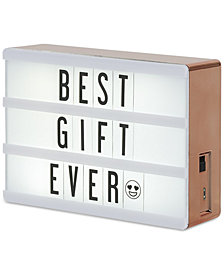 Amped Cinema Rose Gold Lightbox