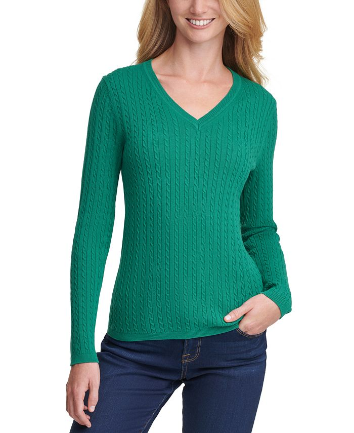 Tommy Hilfiger - Ivy Cotton Cable Sweater