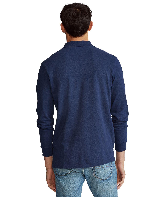 Polo Ralph Lauren Men's Big & Tall Mesh Long-Sleeve Polo Shirt & Reviews - Casual Button-Down Shirts - Men - Macy's
