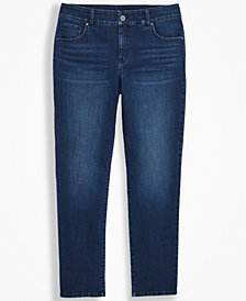 Style & Co Plus Size Straight-Leg Jeans, Created for Macy's