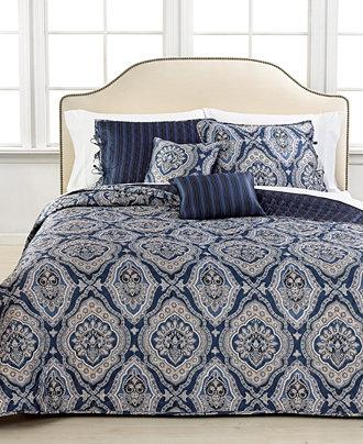 Windsor 5 Piece Reversible Coverlet Sets Quilts